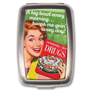 Keeps Me Going Pill Box -