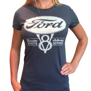 Ford Genuine Parts V8 Women's T-Shirt