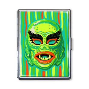 Fish Face Mask Cigarette Case