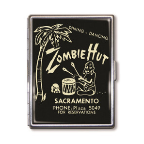 Zombie Hut Cigarette Case