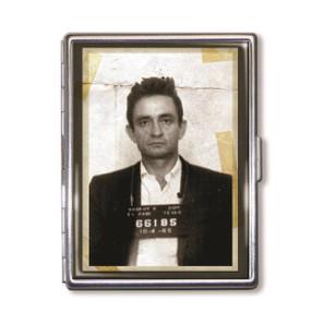 """""""The Man in Black"""" Mugshot Cigarette Case"""