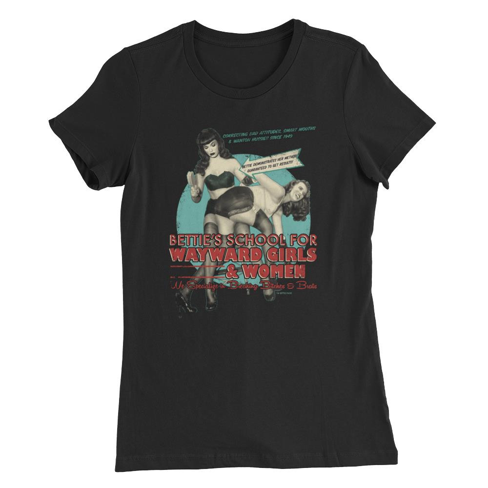 Bettie Page School for Wayward Girls Women's T-Shirt -