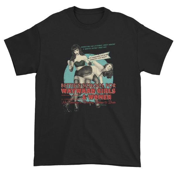 Bettie Page School for Wayward Girls Men's T-Shirt -