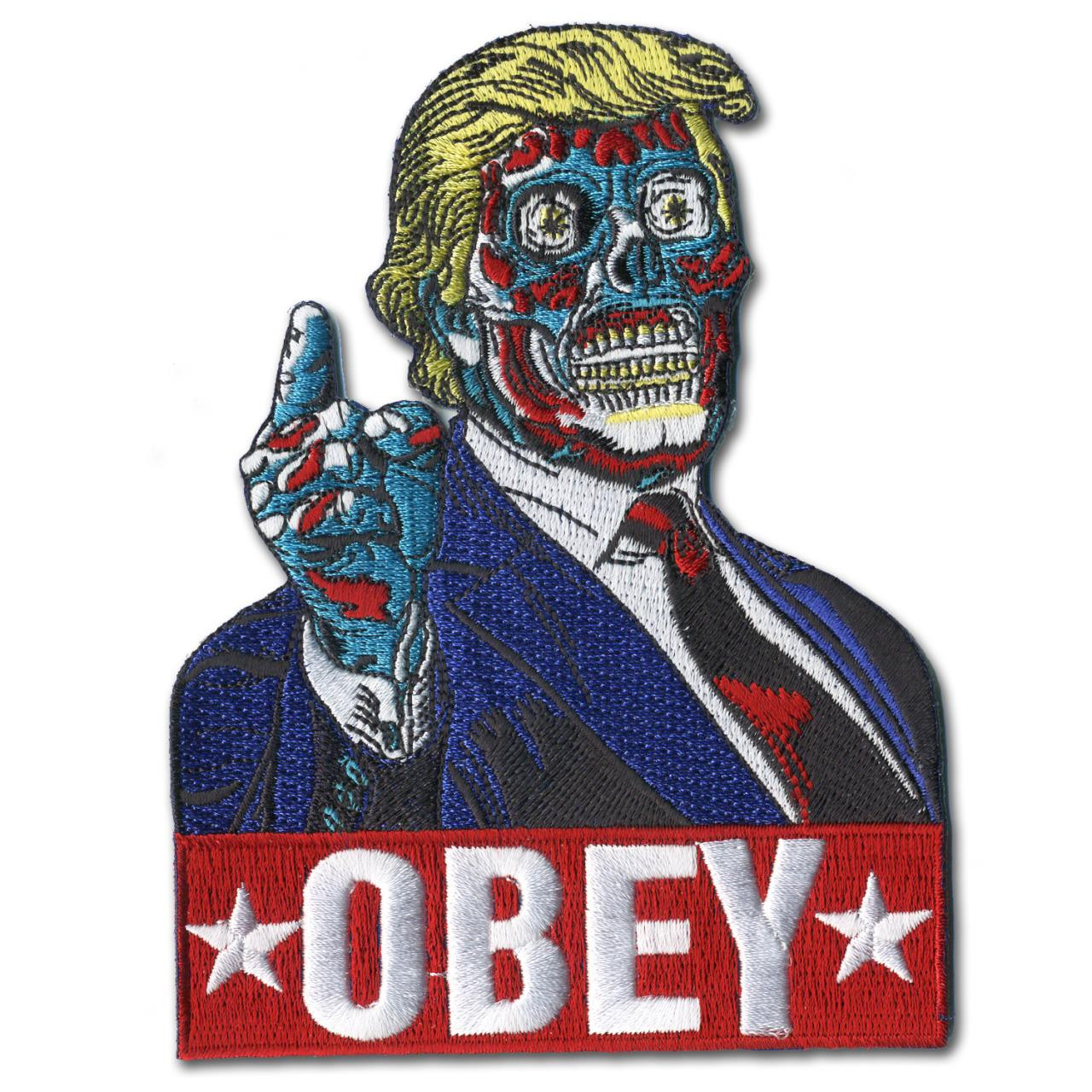 Mitch O'Connell Trump Obey Patch* -