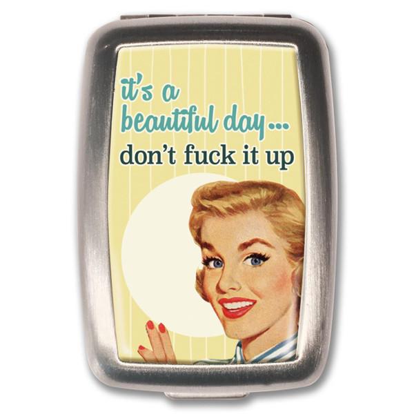 Beautiful Day Pill Box -