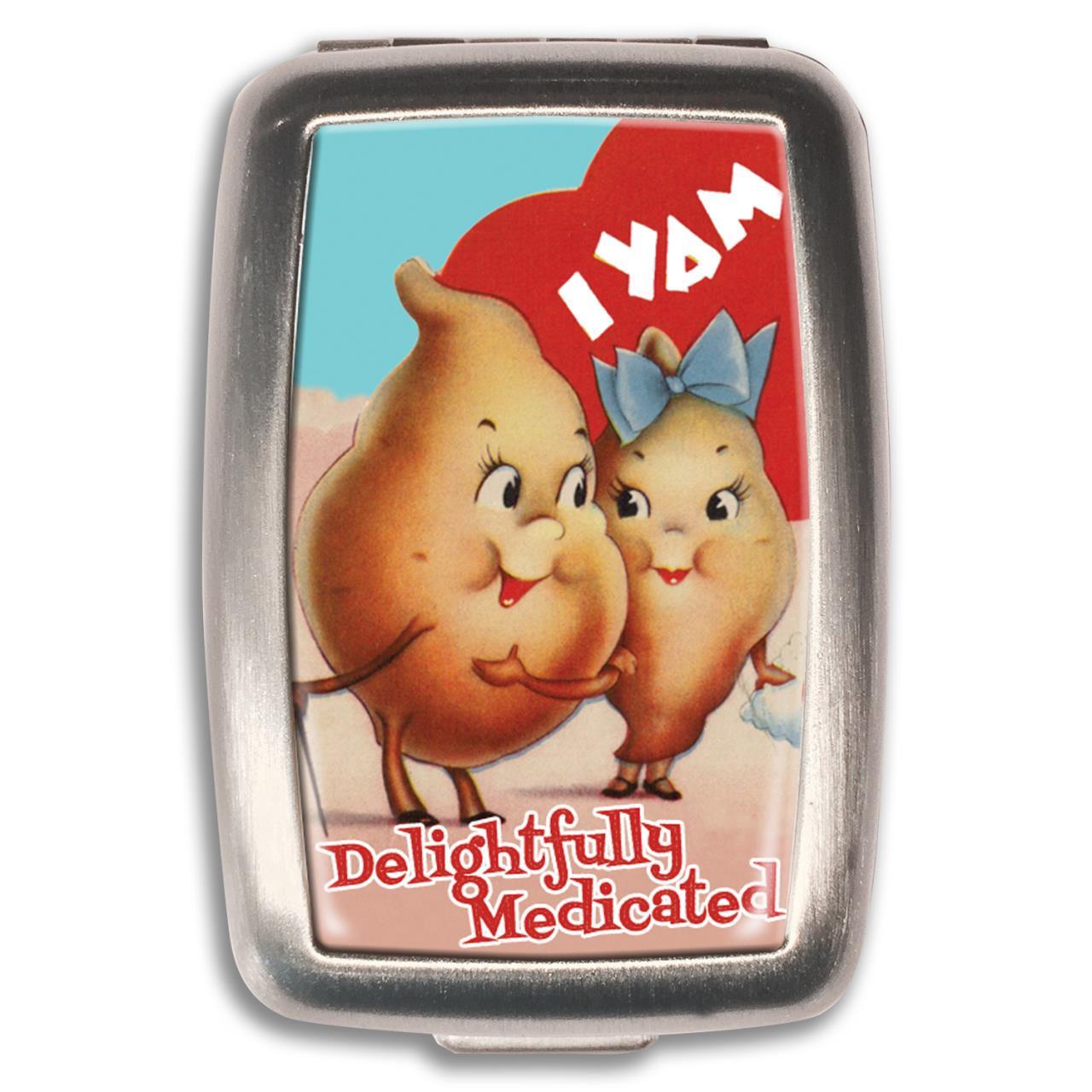 I Yam Medicated Pill Box -