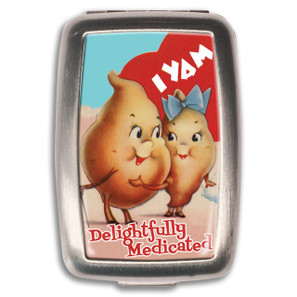 I Yam Medicated Pill Box -