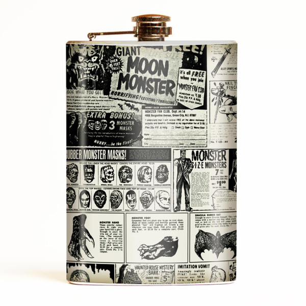 Monster Magazine Flask* - OUT OF STOCK! -