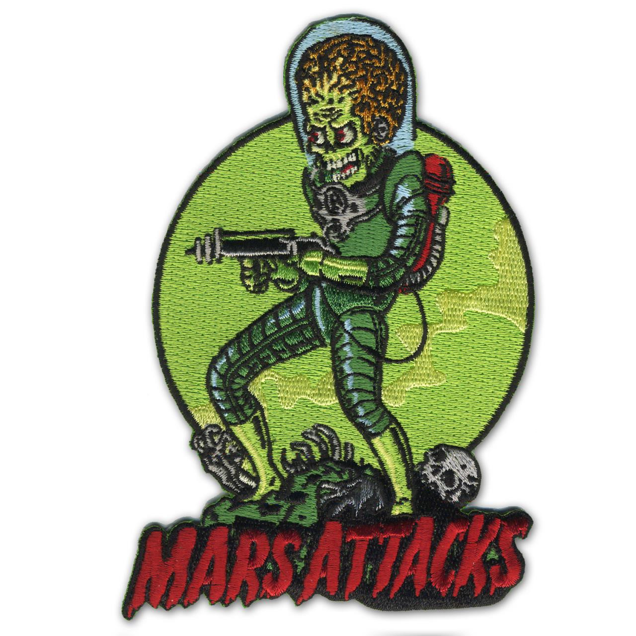 Mars Attacks Death Trooper Patch - 0641938656381