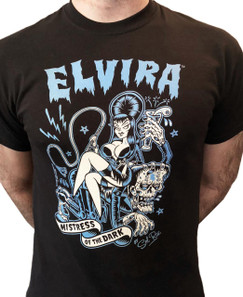 Elvira Mistress Of The Dark Men's T-Shirt* - 0659682805870