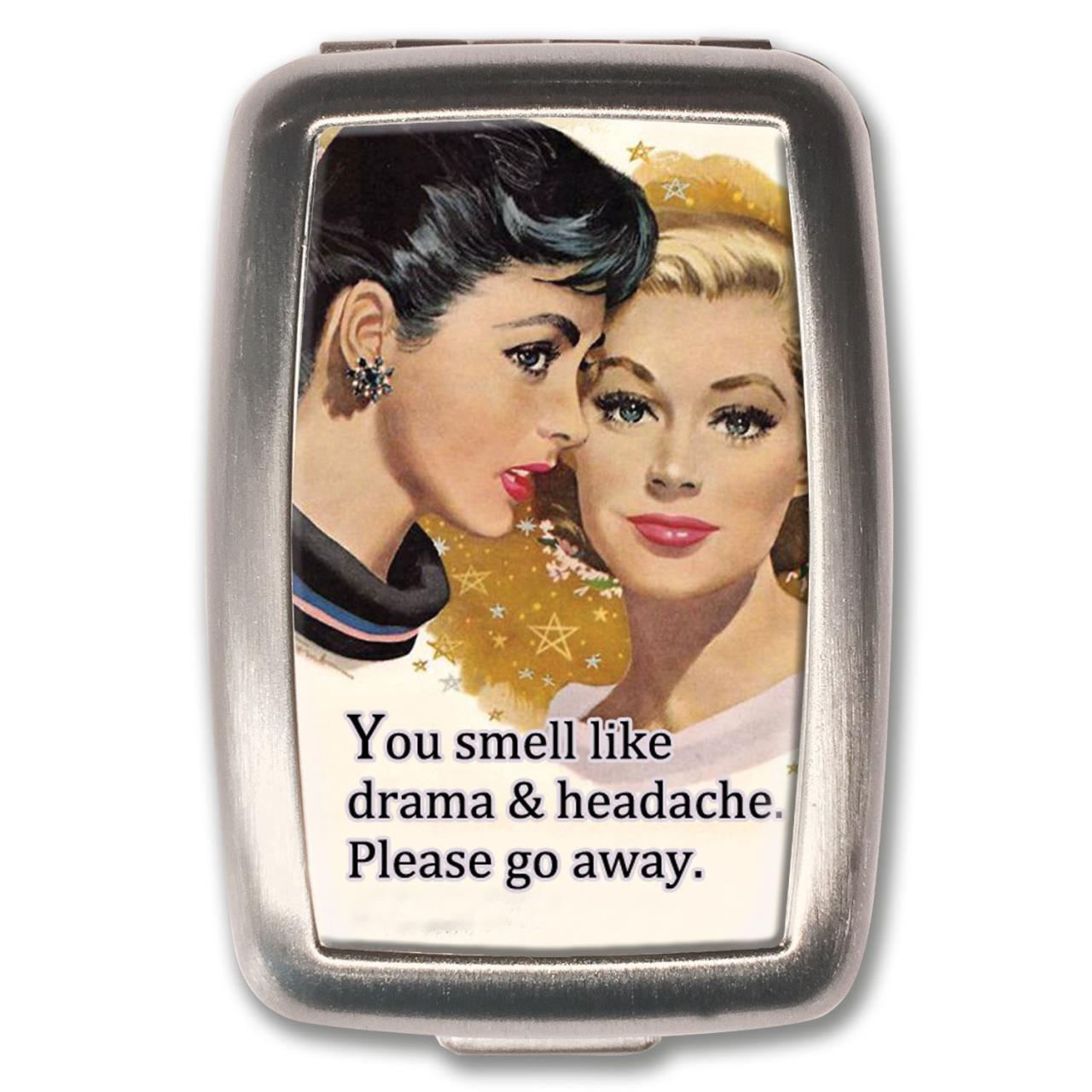 Drama & Headache Pill Box -