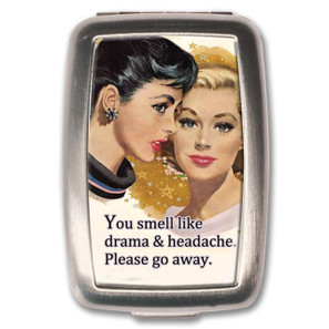 Drama & Headache Pill Box -