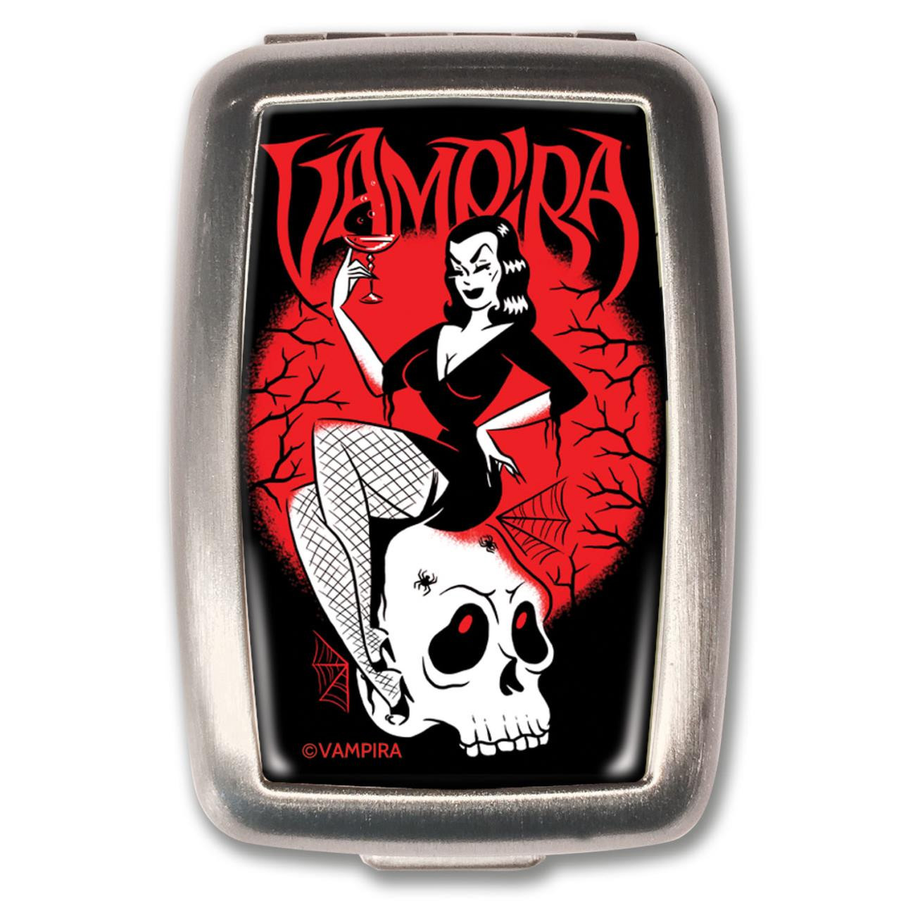Vampira Toast Pill Box -
