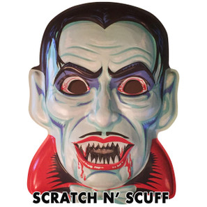 Scratch N' Scuff Blood Of Dracula Vac-tastic Plastic Mask* -