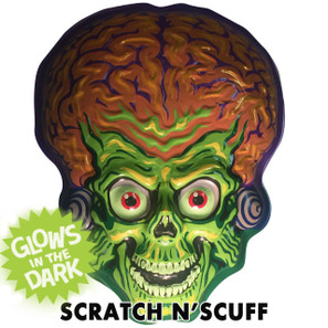Scratch N'Scuff Mars Attacks Martian Invader Vac-tastic Plastic Mask -
