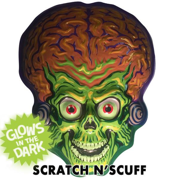 Scratch N'Scuff Mars Attacks Martian Invader Vac-tastic Plastic Mask -