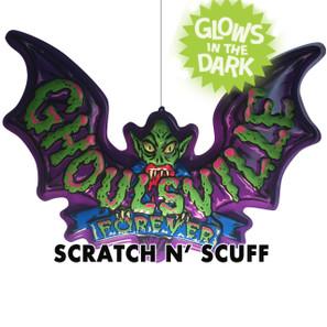 Scratch N' Scuff Ghoulsville Bat Mobile -