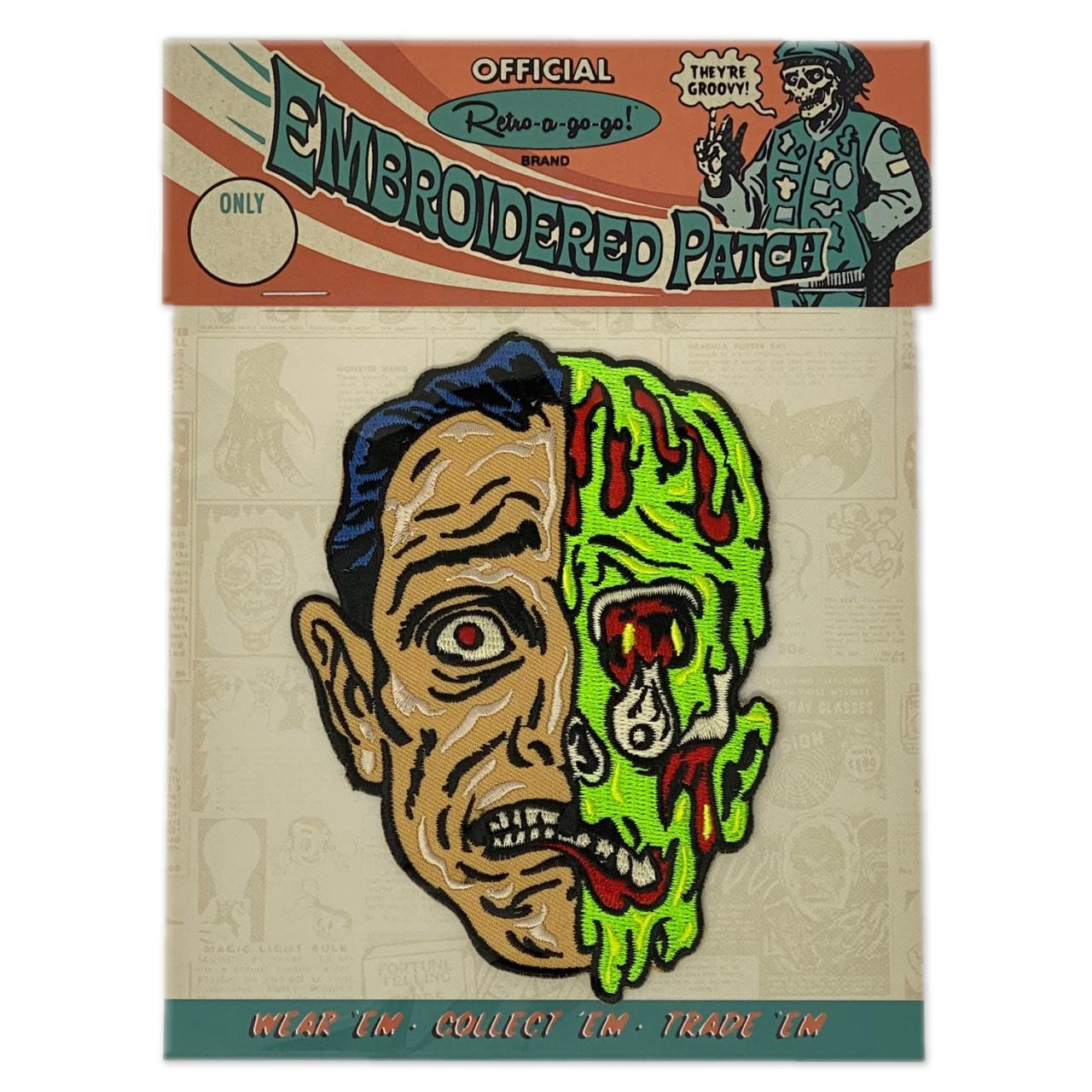 Melted Man Patch - 0659682806624