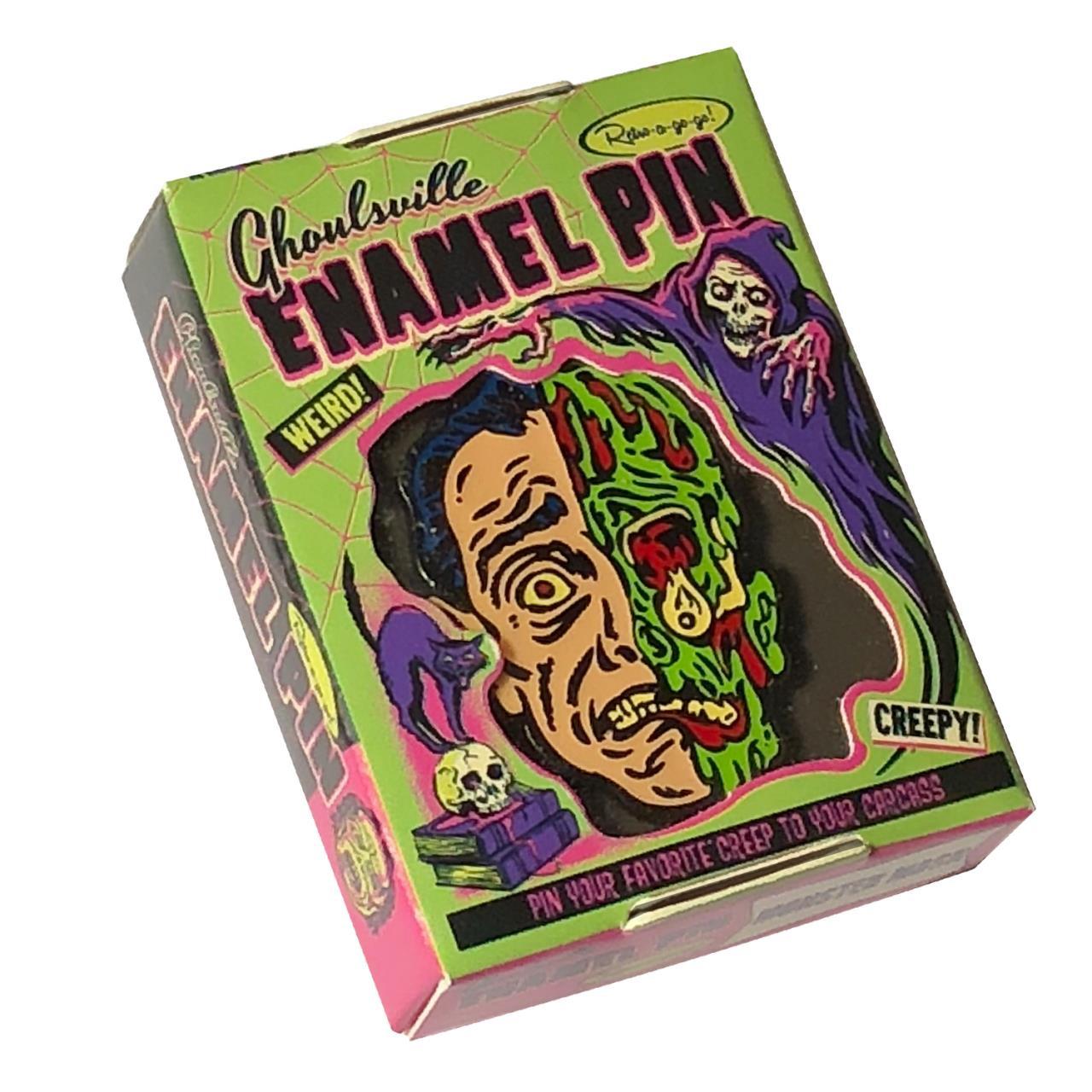 Melted Man Enamel Pin - 0659682806495