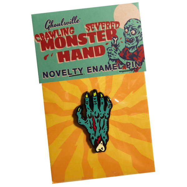 Monster Hand Enamel Pin* - 0659682806396
