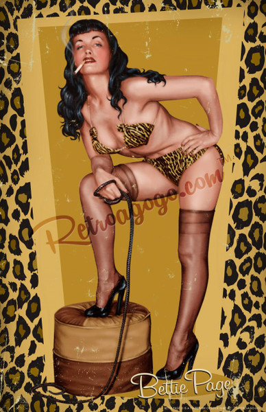Bettie Page Smokin' Hot Print* - 0659682806815