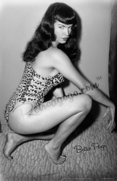 Bettie Page Vixen Print* - 0659682806921