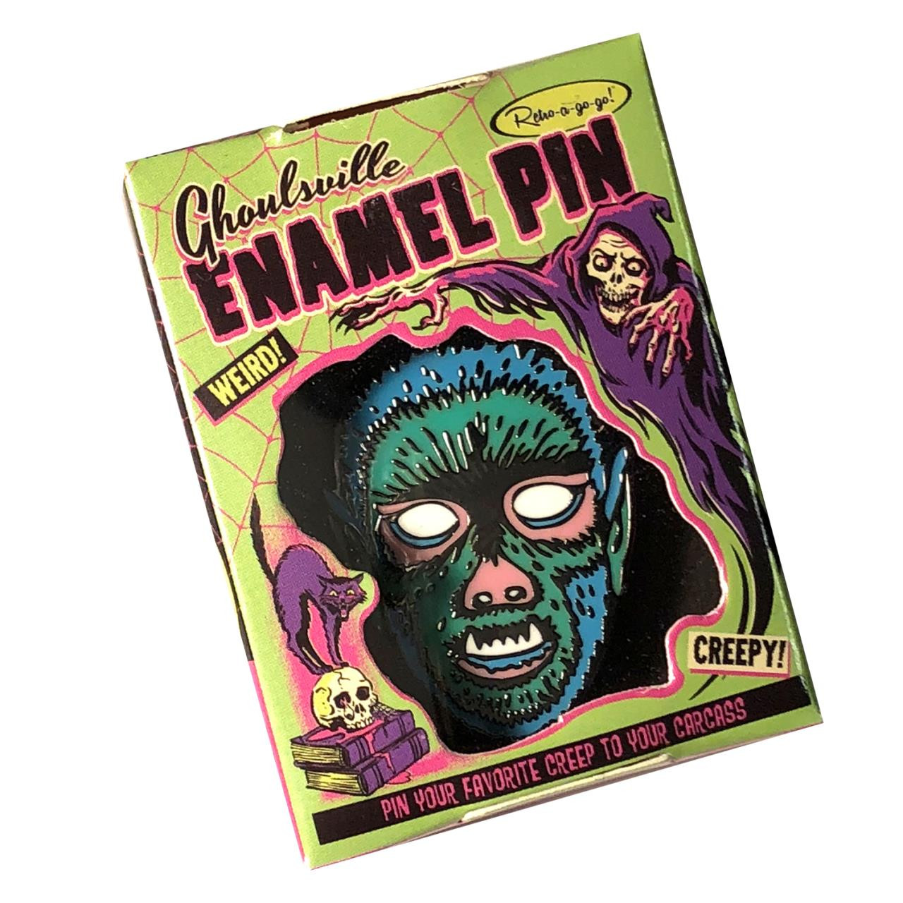 Limited Edition Crazy Wolf Enamel Pin* -