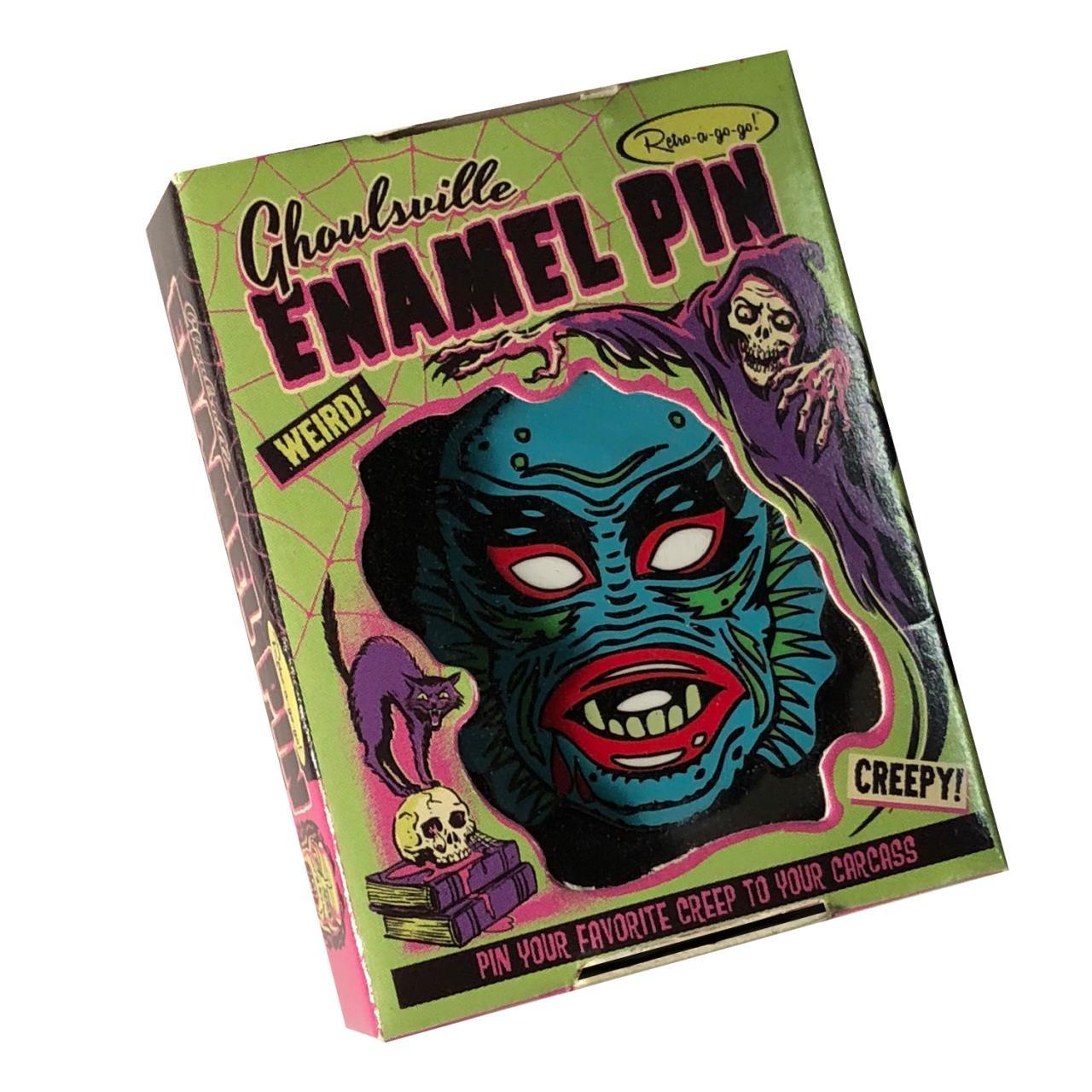Limited Edition Aqua Creep Enamel Pin* -