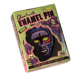 Limited Edition Midnight Wolf Enamel Pin* -