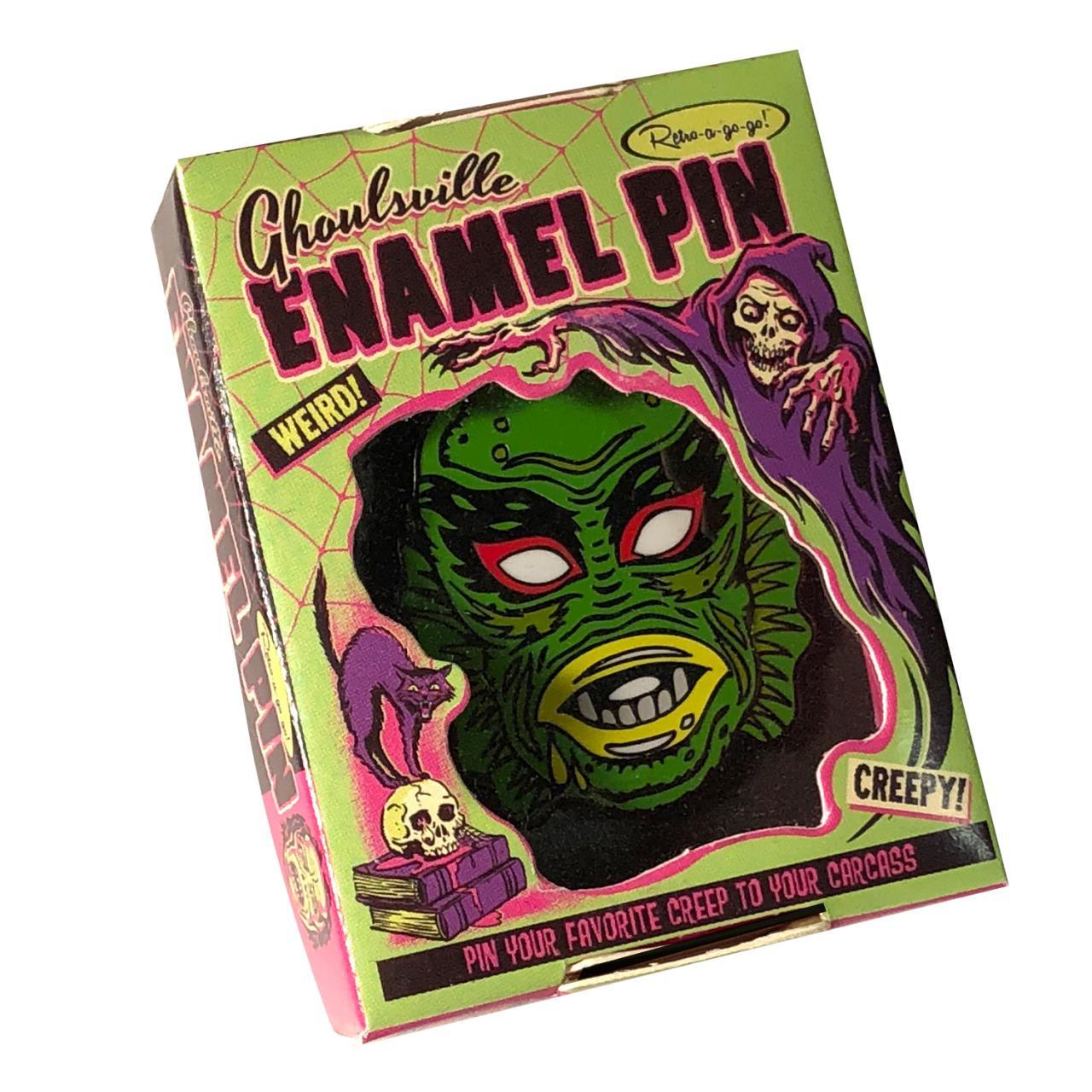 Limited Edition Amazon Man Enamel Pin* -