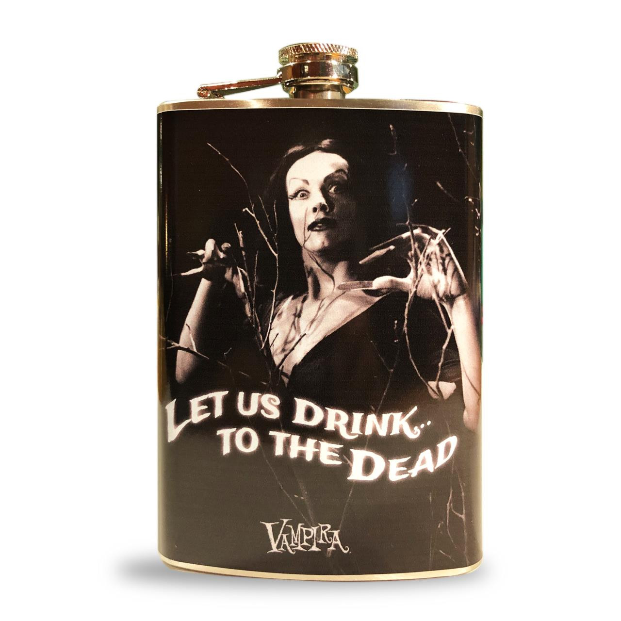 Vampira Let Us Drink Flask* -