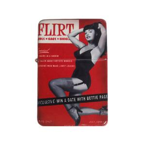 Bettie Page Flirt Lighter w/Tin* -