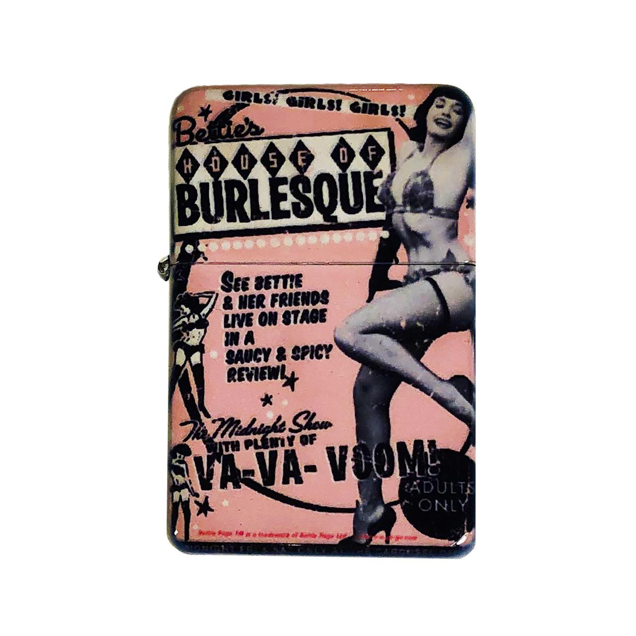 Bettie Page House Of Burlesque Lighter w/Tin* -