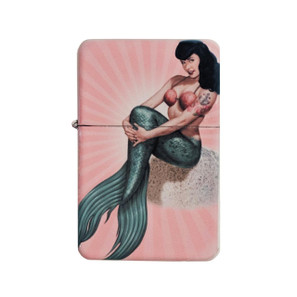 Bettie Page Mermaid Bettie Lighter w/Tin* -