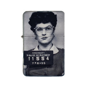 Housewives Mugshot Lighter w/Tin* -