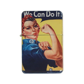 Rosie The Riveter Lighter w/Tin* -