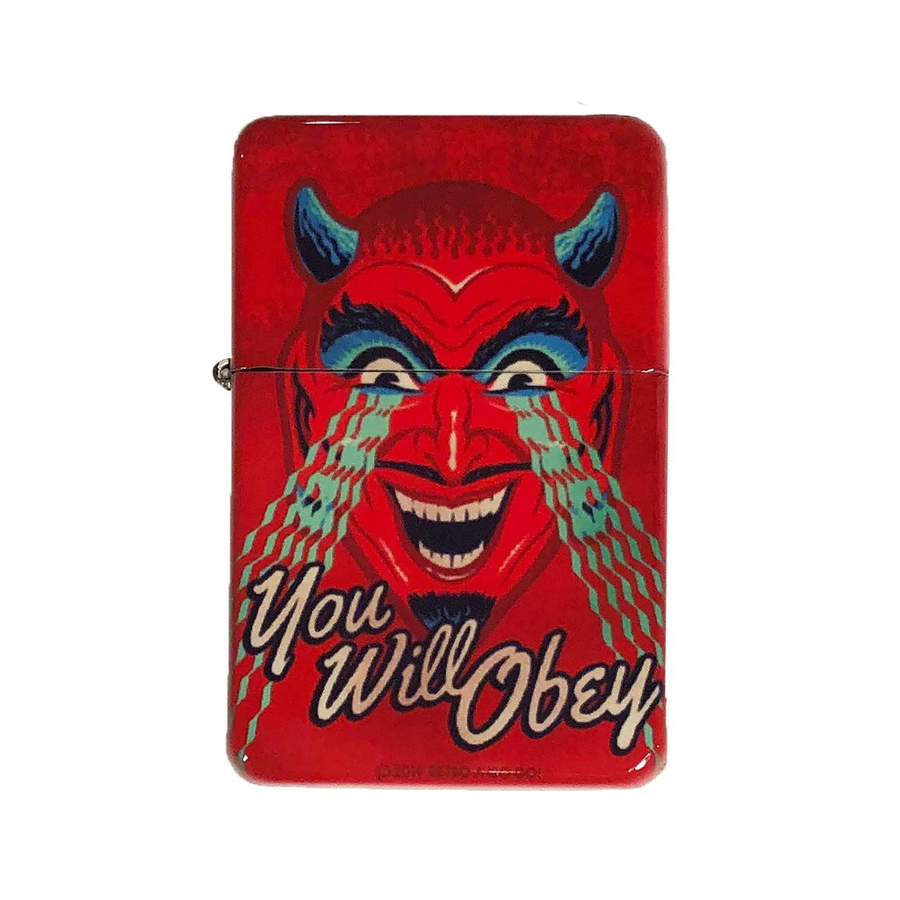 You Will Obey Lighter w/Tin* -
