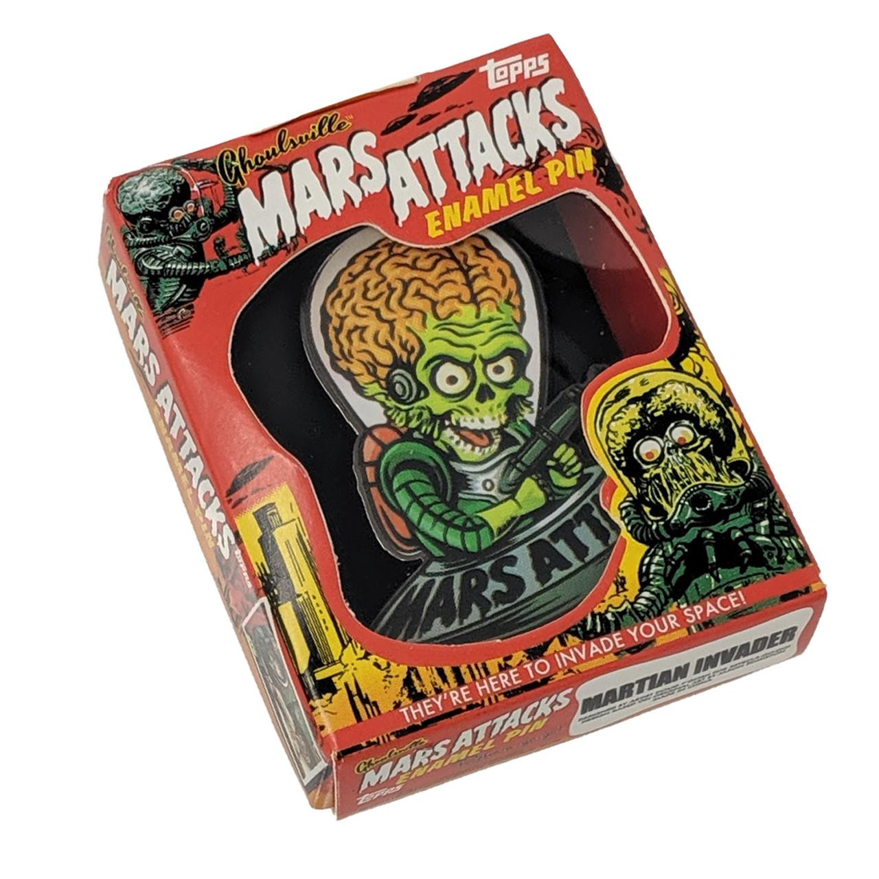 Mars Attacks Cartoon Invader Pin* -