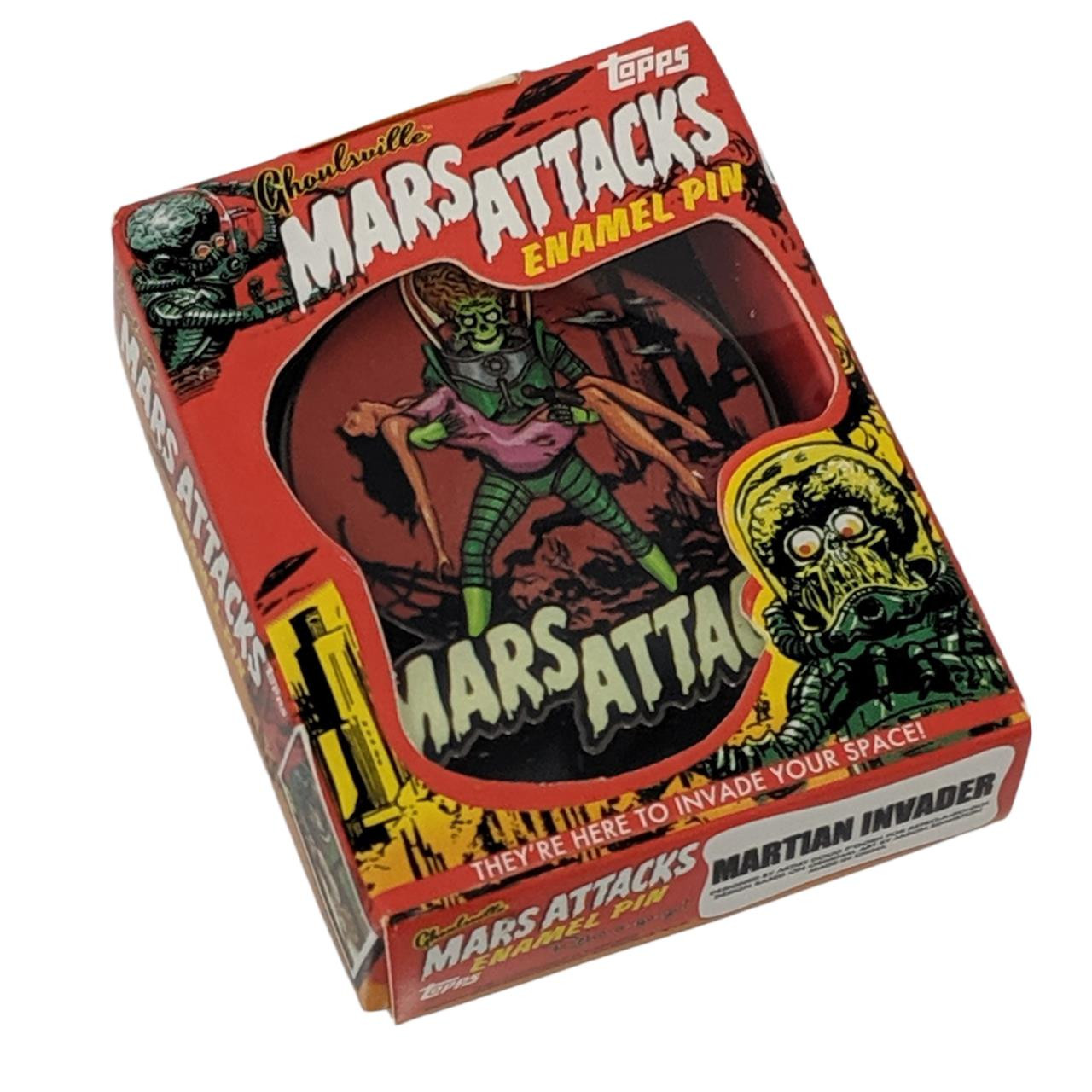 Mars Attacks Victim Pin* -