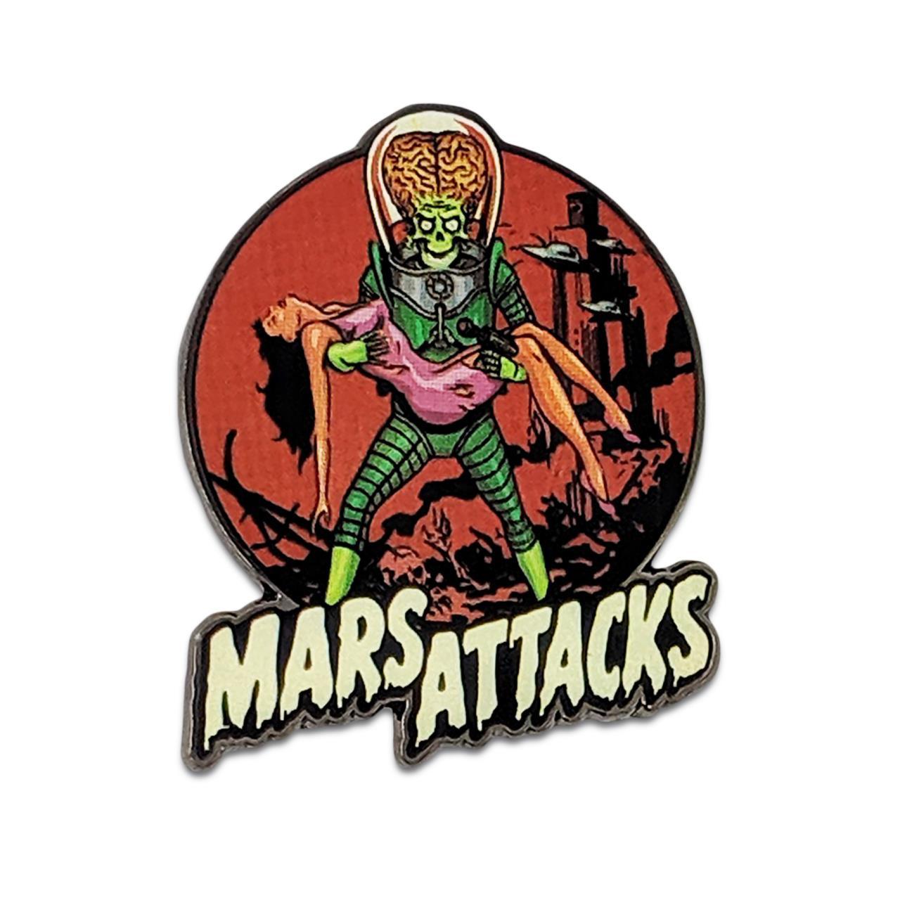 Mars Attacks Victim Pin* -