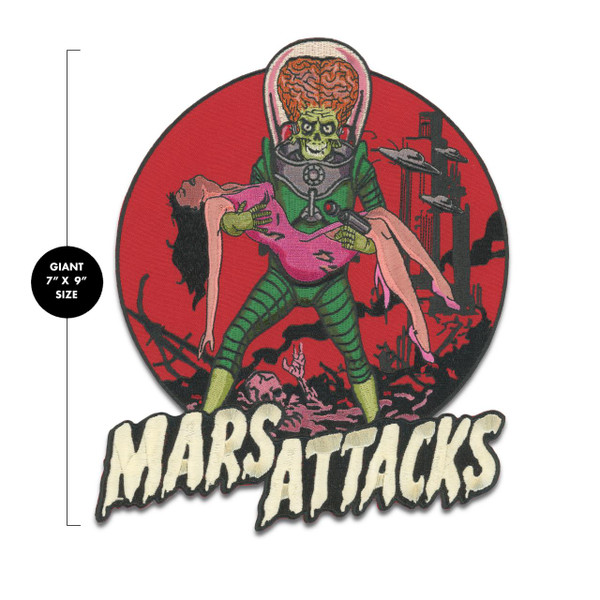 Mars Attacks Victim Back Patch* -