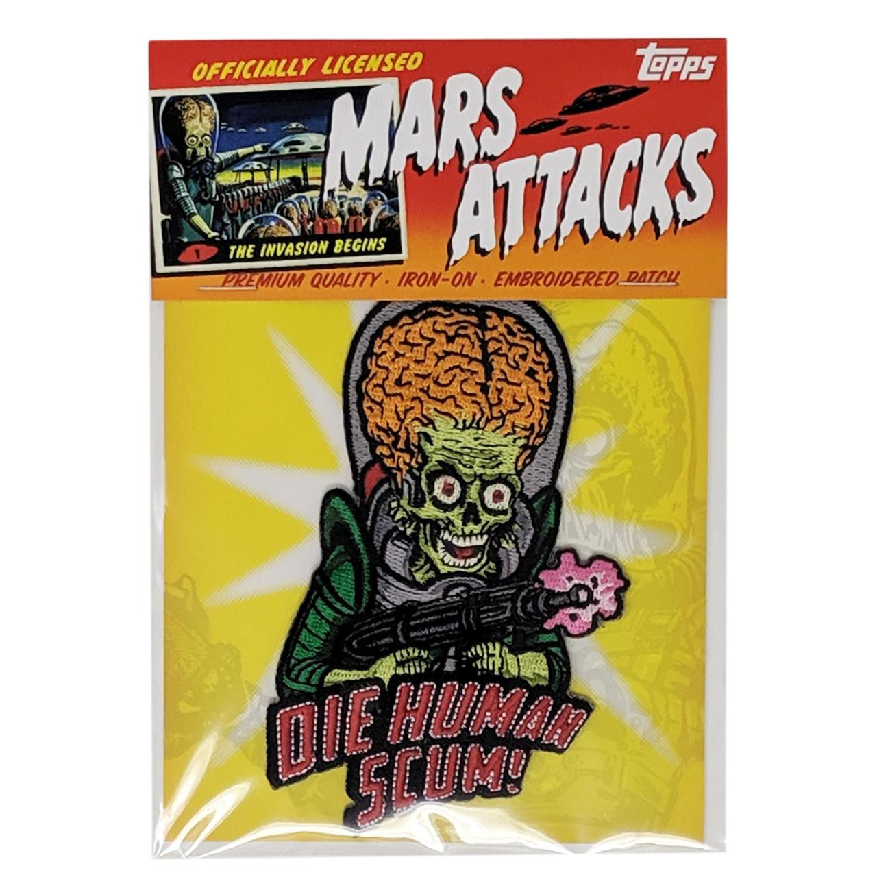 Mars Attacks Human Scum Patch* -