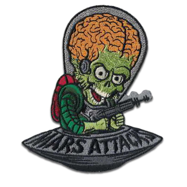 Mars Attacks Cartoon Invader Patch* -