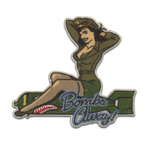 Bettie Page Bombs Away Patch* -