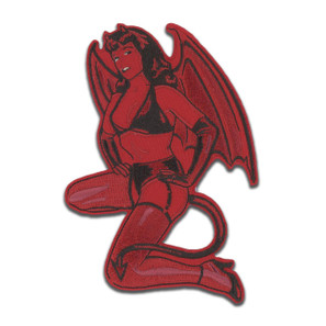 Bettie Page Little Devil Patch* -