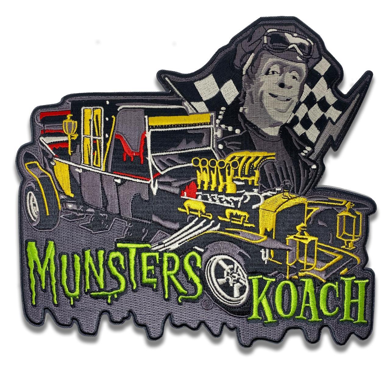 Munsters Koach Back Patch* - 0659682815534