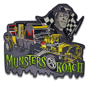 Munsters Koach Back Patch* - 0659682815534
