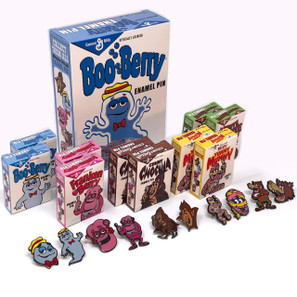 General Mills Pin Collection w/Boo Berry Box* -