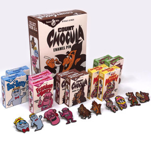 General Mills Pin Collection w/Count Chocula Box* -