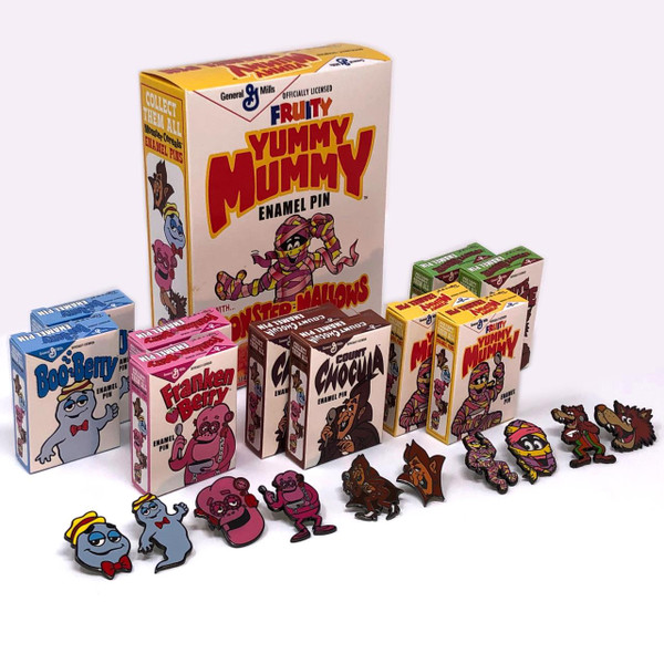 General Mills Pin Collection w/Yummy Mummy Box* -